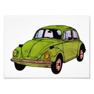 Foto Desenho do carro do Hippie, impressão profissional