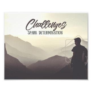 Foto Determinação da faísca dos desafios