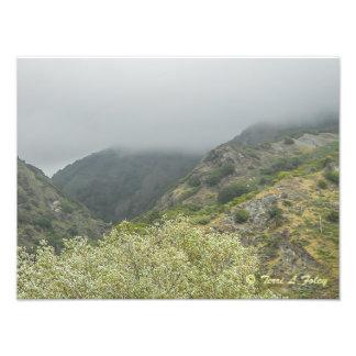 Foto Dia nevoento - Hwy litoral 1 Califórnia