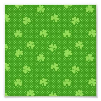 Foto Dia verde de Patricks do santo do teste padrão do
