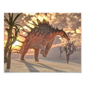 Foto Dinossauro do Kentrosaurus - 3D rendem