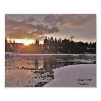 Foto Dissolução do inverno em Alaska