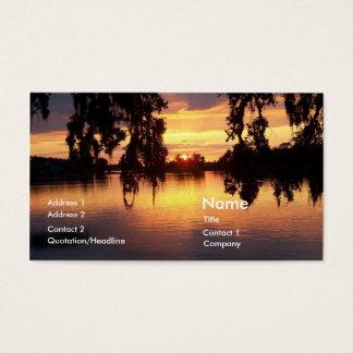 Foto do cartão de visita do cartão de visita do