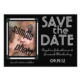Foto do casal - salvar o anúncio da data convite