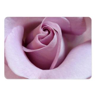 Foto do casamento do rosa do roxo cartoes de visitas