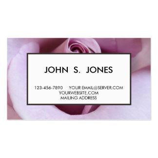 Foto do casamento do rosa do roxo cartão de visita