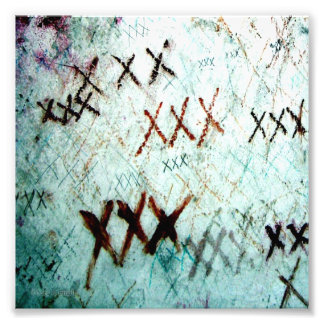 """Foto do cemitério de """"XXX"""" Nova Orleães Impressão De Foto"""