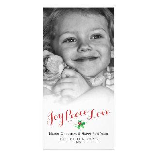 Foto do costume do roteiro do amor da paz da cartão com foto