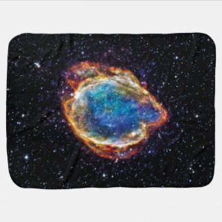 Foto do espaço da NASA do resto G299.2-2.9 do Manta De Bebe