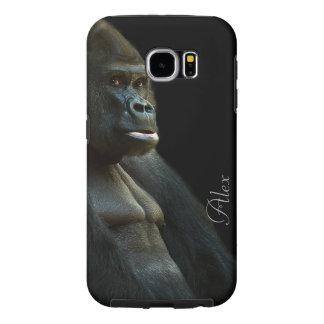 Foto do gorila capa para samsung galaxy s6