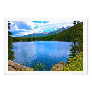 Foto do lago colorado
