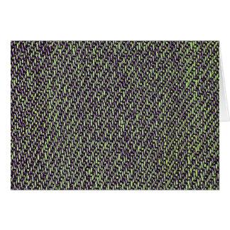 Foto do macro da textura de jeans cartão comemorativo