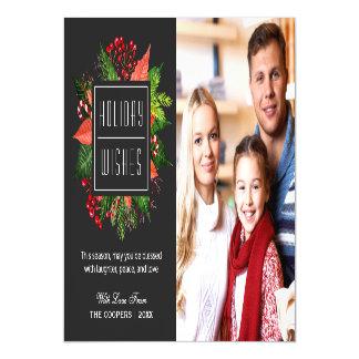 Foto do Natal das bagas do azevinho das bênçãos do