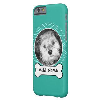 Foto do osso de cão e do animal de estimação do capa barely there para iPhone 6