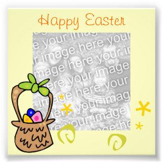 Foto do quadro do ovo da páscoa impressão de foto