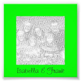 Foto do quadro do verde limão impressão de foto