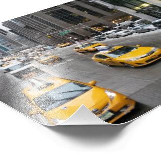 Foto do táxi de New York
