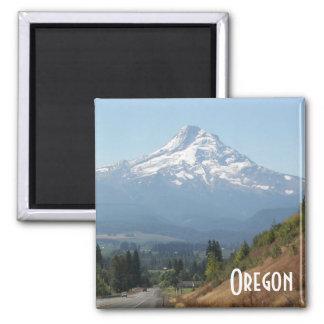 Foto do viagem de Oregon Ímã Quadrado