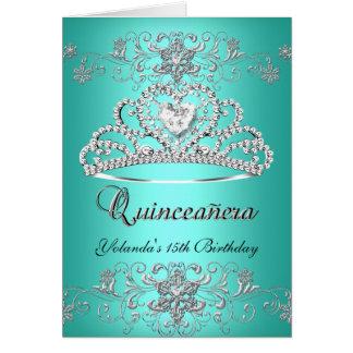 Foto dobrada da tiara do brilho da cerceta de cartão de nota