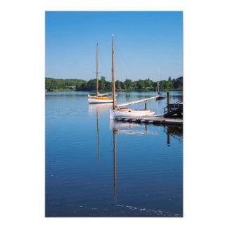 Foto Domingo de manhã veleiros reflexivos