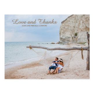 Foto dos cartões de agradecimentos, obrigado