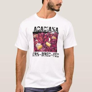 Foto dos lagostins de Acadiana Nascer-Produzir-Fed Camiseta