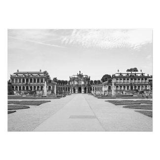 Foto Dresden. Zwinger. Pavilhão no eixo