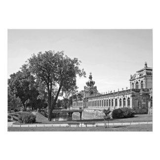 Foto Dresden. Zwinger. Portas da coroa