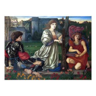 Foto Edward Burne-Jones a canção de amor