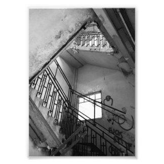 Foto escadas acima