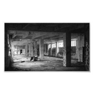 Foto espaços interiores urbanos abandonados