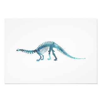 Foto Esqueleto do dinossauro