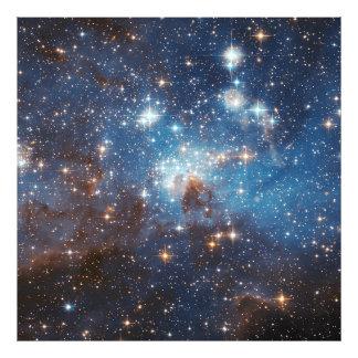 Foto Estrela do LH 95 que forma a NASA da região