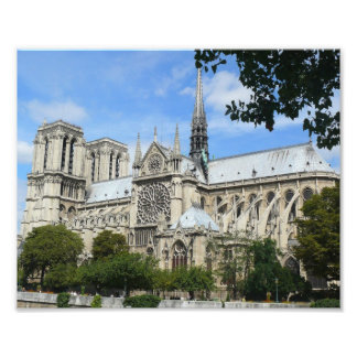 Foto Fachada sul, catedral de Notre Dame, Paris, France