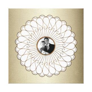 Foto feita sob encomenda do casamento ou do impressão em tela