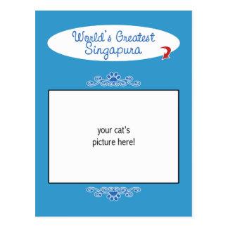 Foto feita sob encomenda! Mundos o grande Cartão Postal