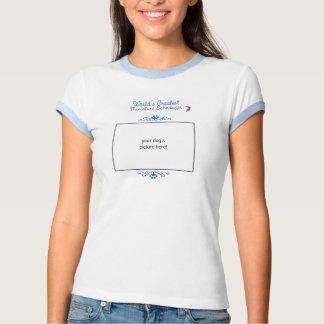 Foto feita sob encomenda! O grande Schnauzer Camiseta