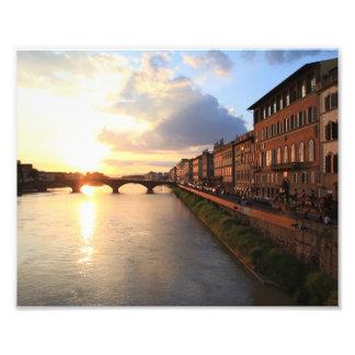 Foto Florença no por do sol
