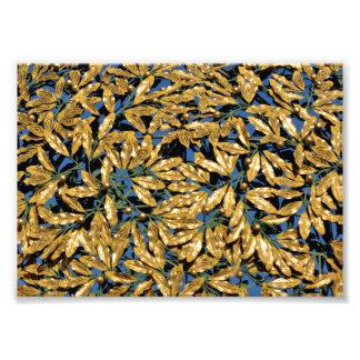 Foto Folhas do louro do ouro