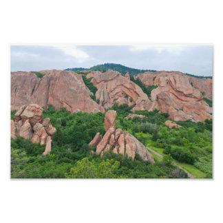 Foto Formações do vale e de rocha em Roxborough