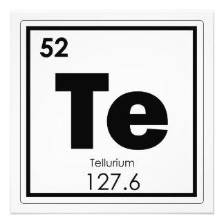 Foto Formul da química do símbolo do elemento químico