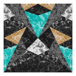 Foto Fundo geométrico G430 do mármore do impressão da