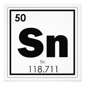 Foto Geek da fórmula da química do símbolo do elemento