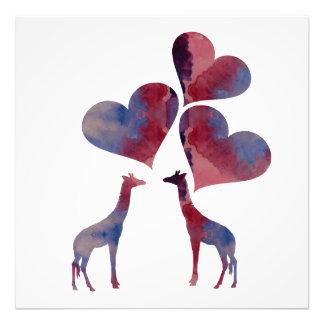 Foto Girafas da arte