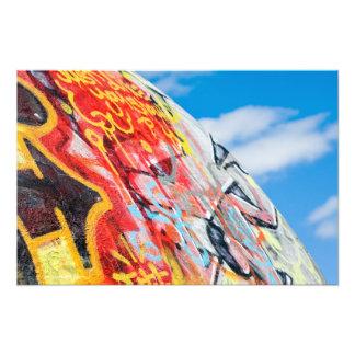 Foto grafites do planeta