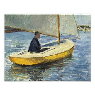 Foto Gustave Caillebotte - o barco amarelo
