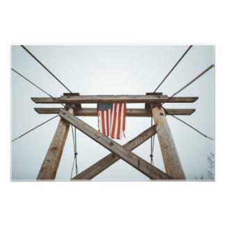 Foto História americana rústica