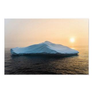 Foto Iceberg no por do sol perto da ilha de Hantzsch,