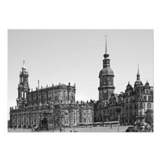 Foto Ideia do quadrado de Teatrplatz em Dresden.