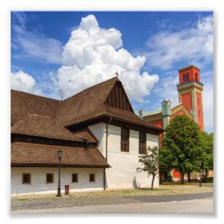Foto Igreja articulaa de madeira em Kezmarok, Slovakia